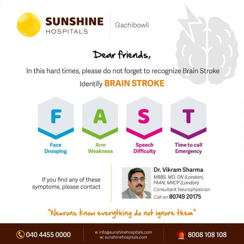 Brain Stroke Treatment in Hyderabad